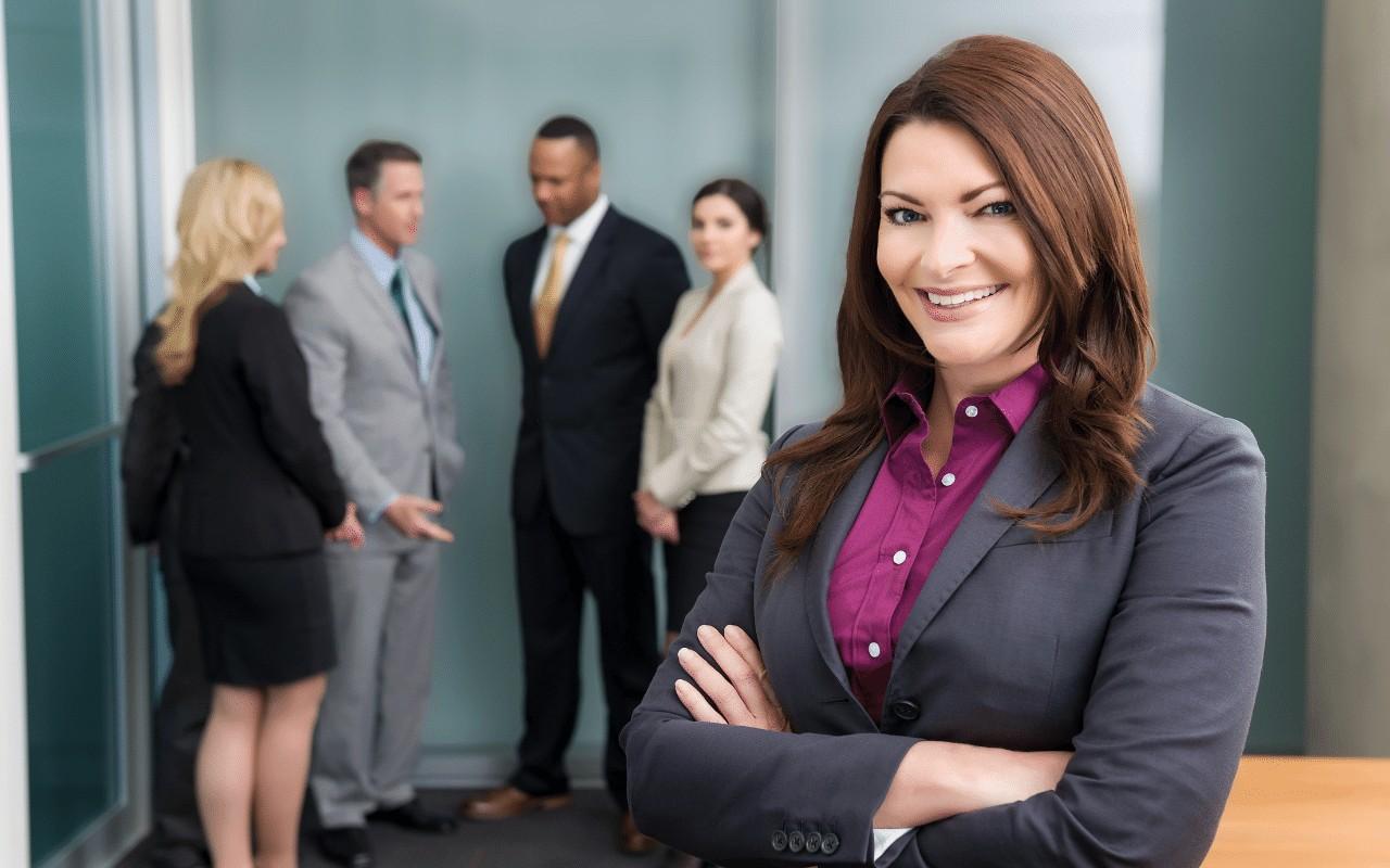 Kompetencje menedżerskie młodej kobiety