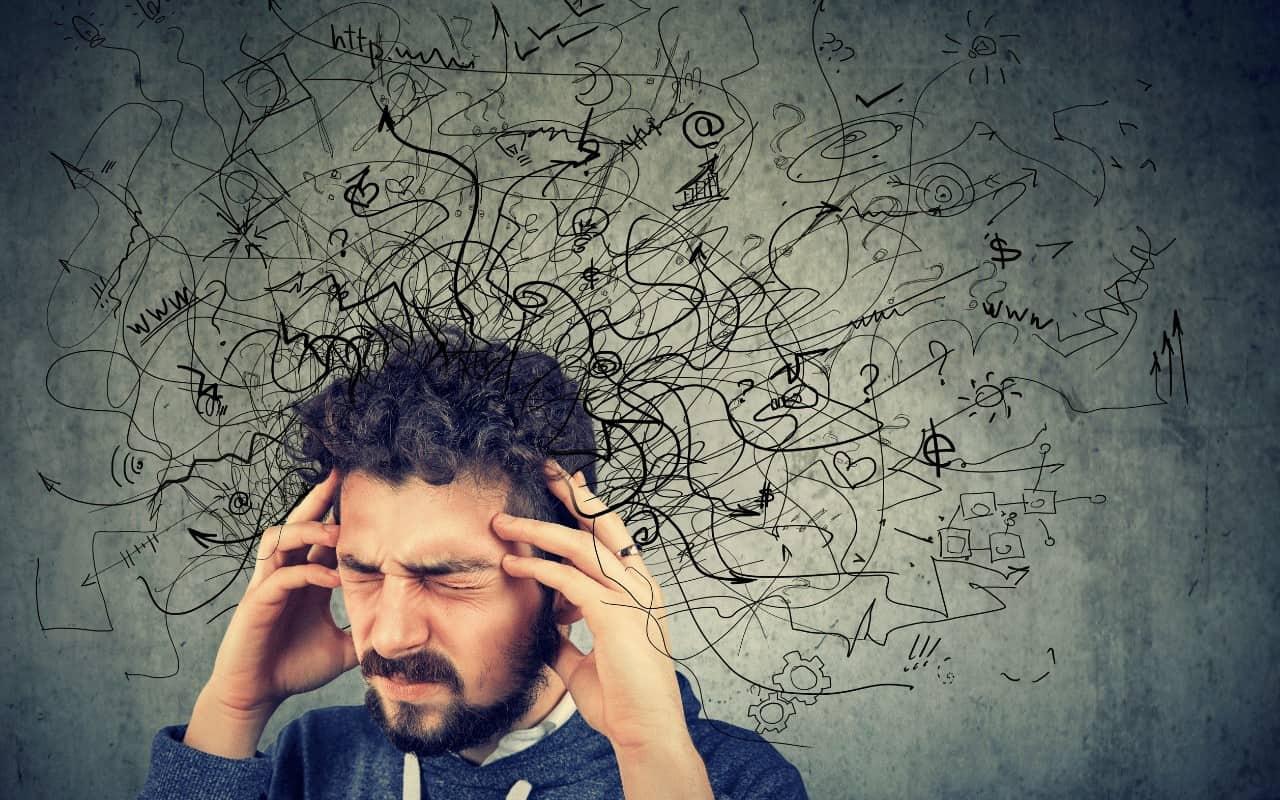 Rozwój osobisty w głowie mężczyzny