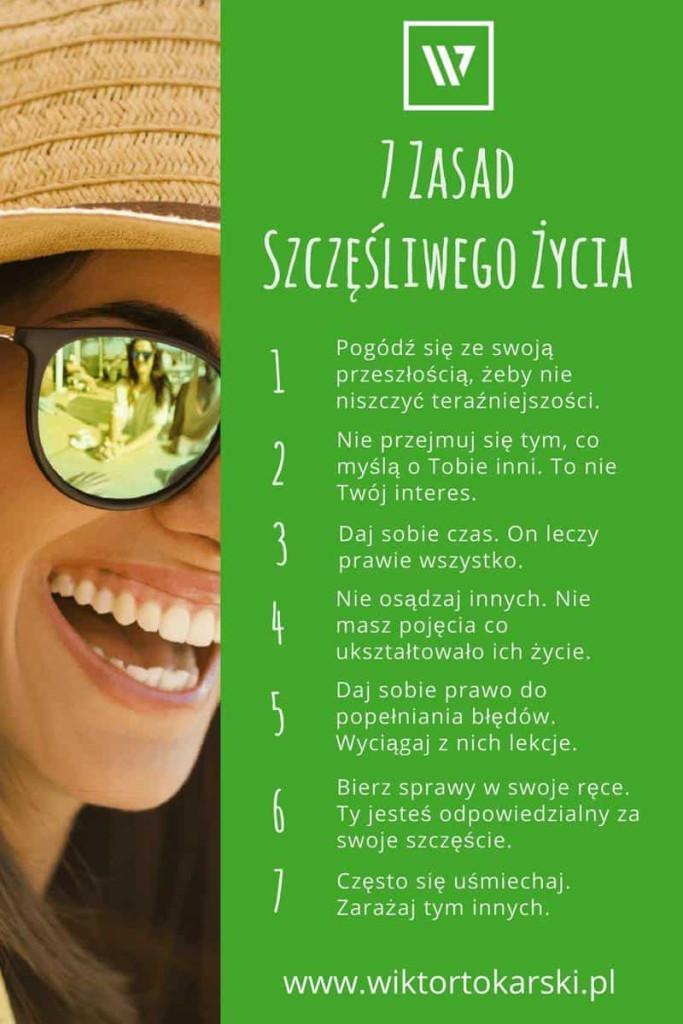 Szczęście - 7 zasad szczęśliwego życia