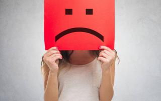 Nieszczęśliwy człowiek