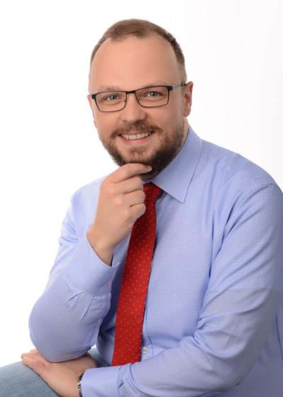 Trener wystąpień publicznych - dr Wiktor Tokarski