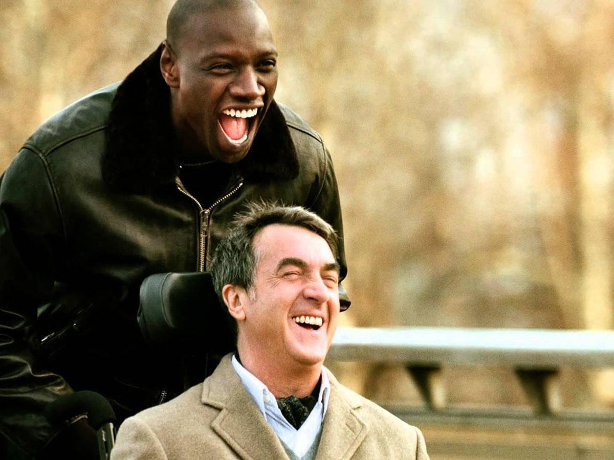 Kadr z filmu Nietykalni Life coaching