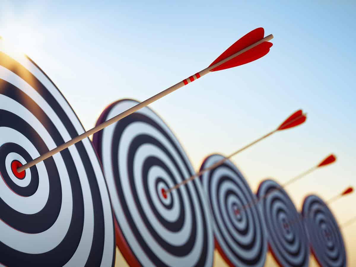Tarcze, cel, strzały Business coaching