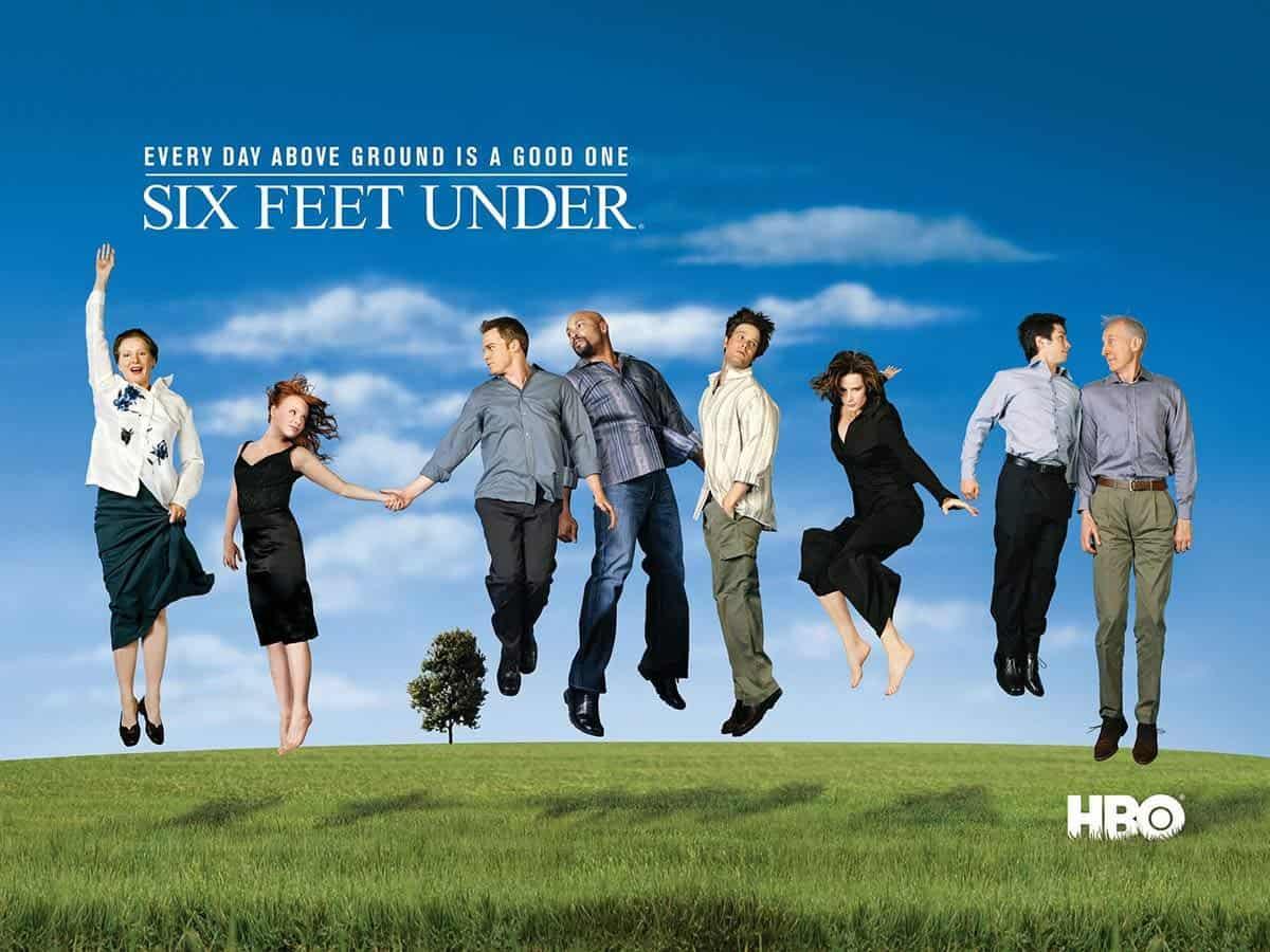 Plakat z serialu Sześć stóp pod ziemią Life coaching