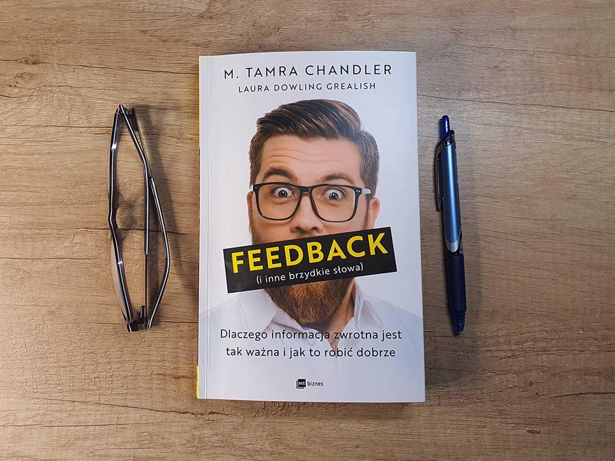Okładka książki Feedback (i inne brzydkie słowa)