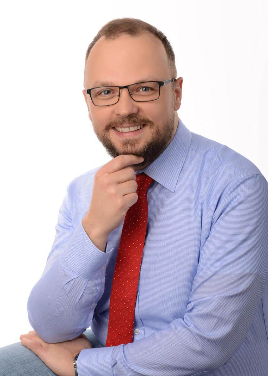 Zdjęcie przedstawiające Wiktora Tokarskiego